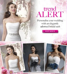 Trend Alert - Sashes