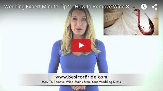 Wedding Expert Minute Tip 2