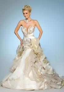 wedding dress by My Lady