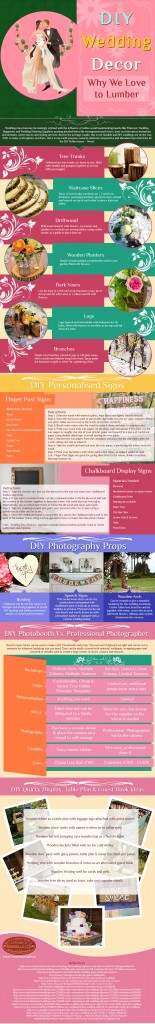 DIY Wedding Decor-An Infographic