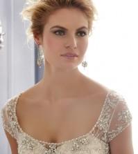 Types of wedding dress necklines