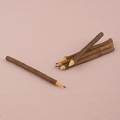 rustic pencils
