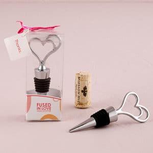 fused in love wine stopper