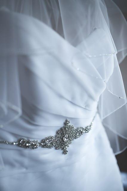 white clean dress