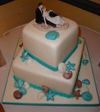 melanie wedding cake