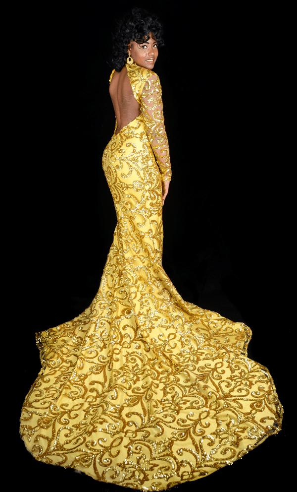 yellow-damask-dress