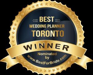 Best Wedding Planner Badge