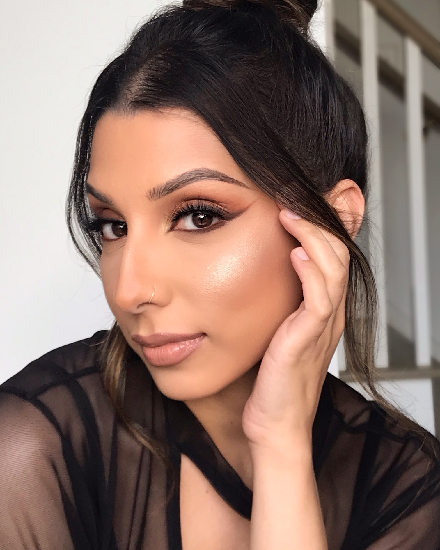 Amber Malik Makeup