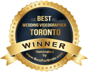 Best Wedding Videographer Toronto badge