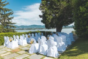 wedding venue during summer