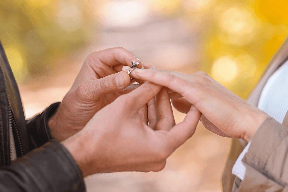 engagement photographer at wedding