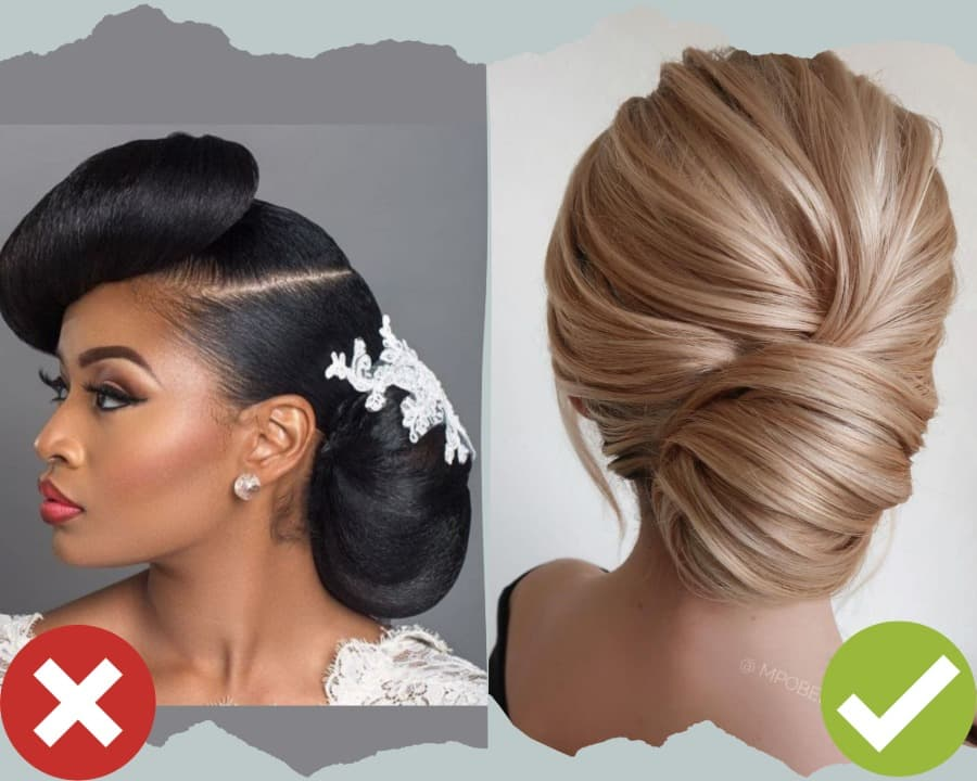 Very Creative Wedding Hairstyles