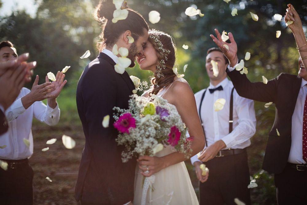 wedding day joy