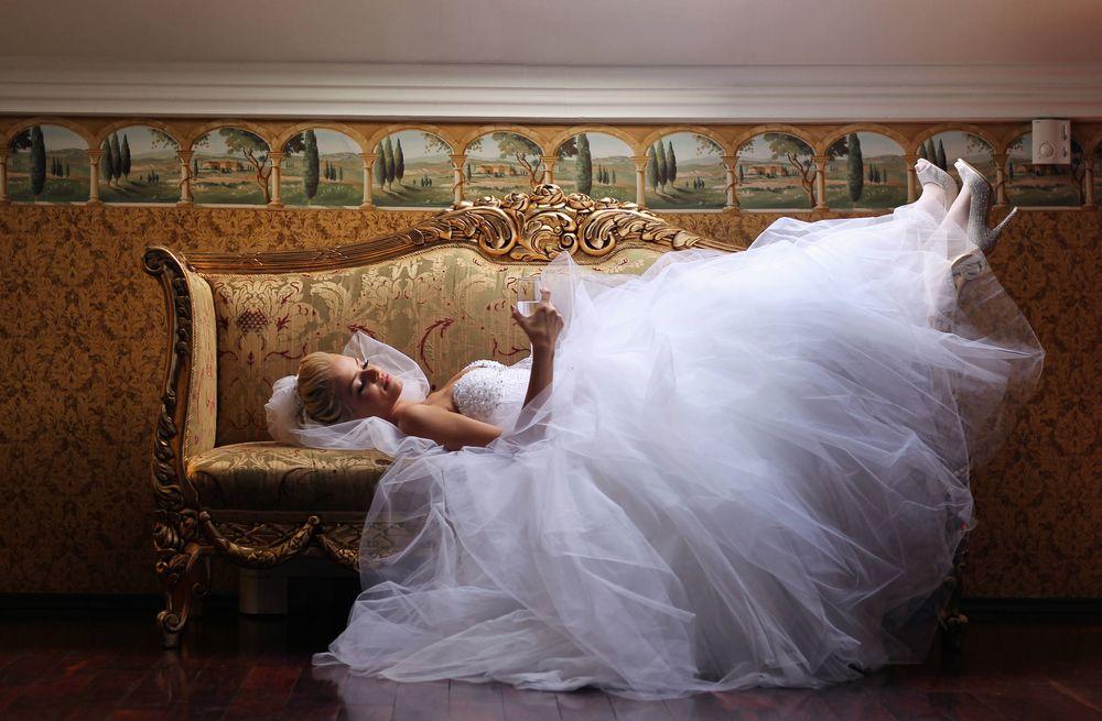 wedding day relax