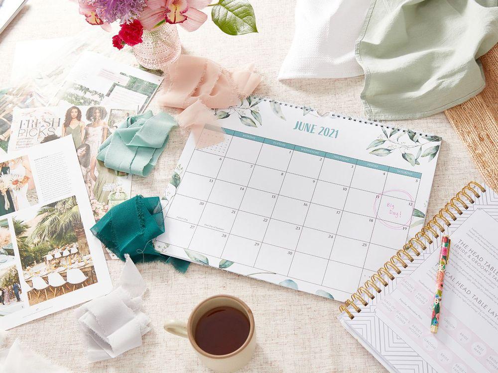 wedding schedule date