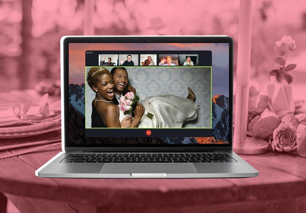 A Rise In Remote Wedding Ceremonies