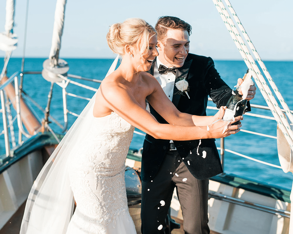 wedding boat party