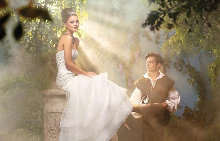 Disney bridal dress