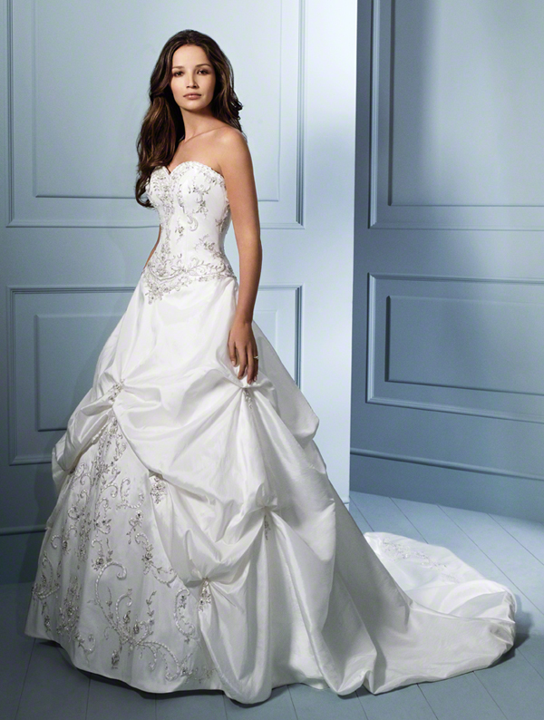 dress alfred angelo collection 758 taffeta alfredangelo bridal. Black Bedroom Furniture Sets. Home Design Ideas