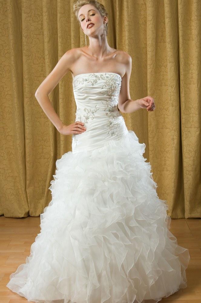 dress alfred sung bridal 6695 alfredsung bridal. Black Bedroom Furniture Sets. Home Design Ideas