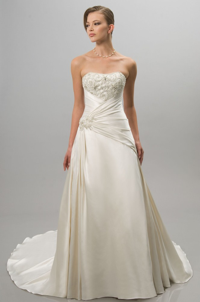 view dress alfred sung bridal 6857 alfredsung bridal. Black Bedroom Furniture Sets. Home Design Ideas