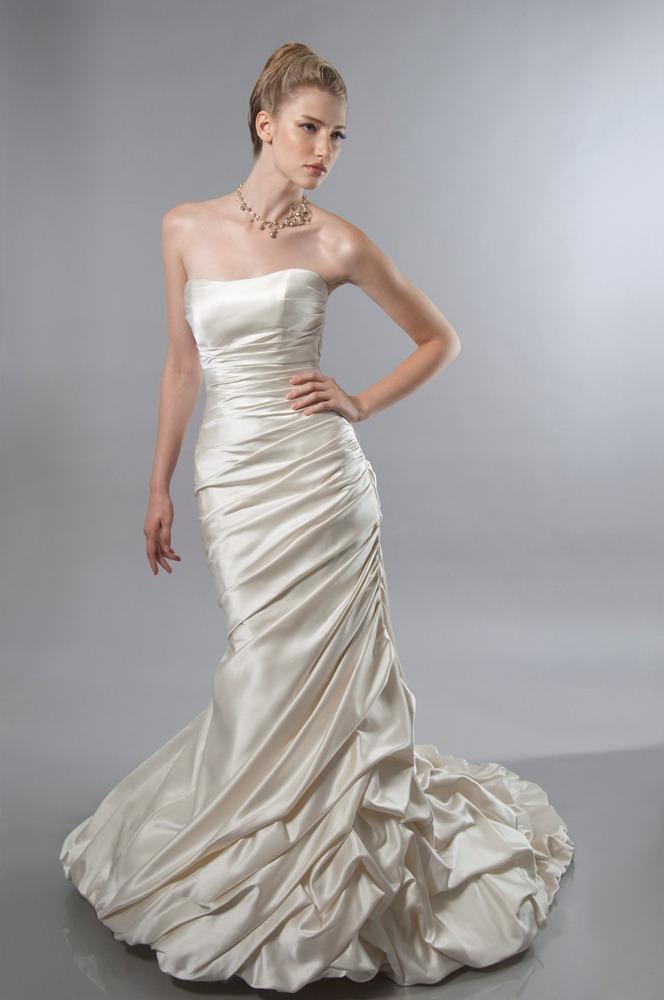 dress alfred sung bridal 6834 alfredsung bridal. Black Bedroom Furniture Sets. Home Design Ideas