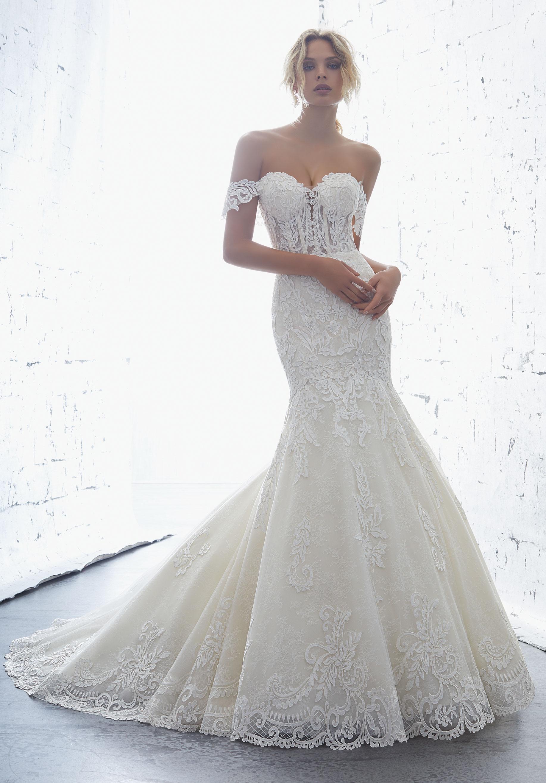 Dress - Angelina Faccenda Bridal SPRING 2018 Collection: 1707 ...