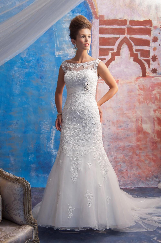 Dress - JAI SPRING 2013 BRIDAL 9174 - Lace/Tulle | Jai Bridal