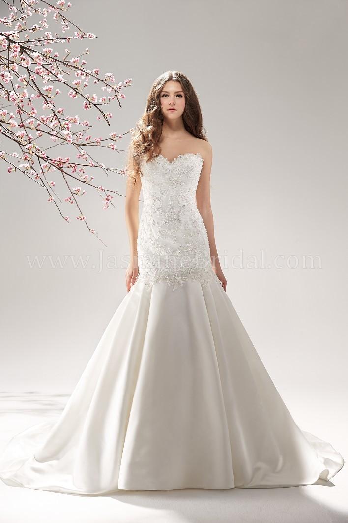 Dress collection bridal fall 2013 f151060 jasmine bridal for Jasmine collection wedding dresses
