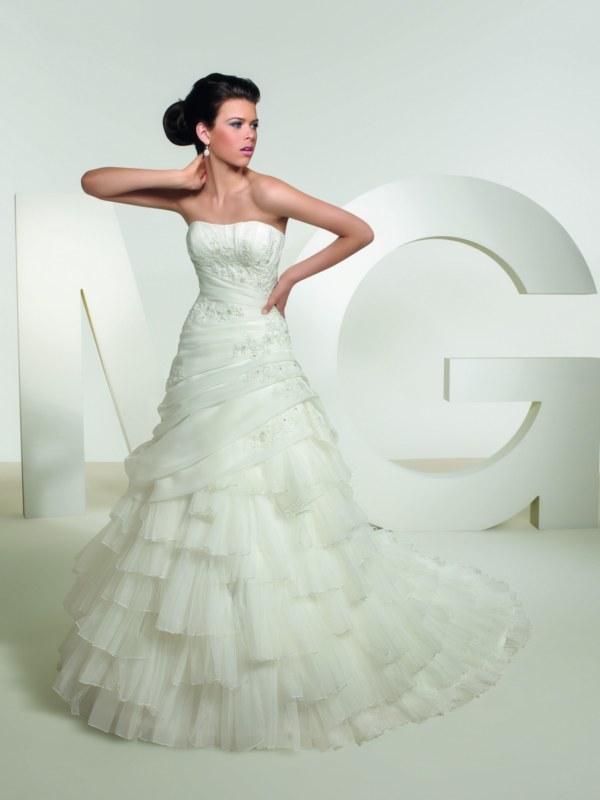 View Dress - MGNY SPRING 2011 - 36038 | MadelineGardner Bridal