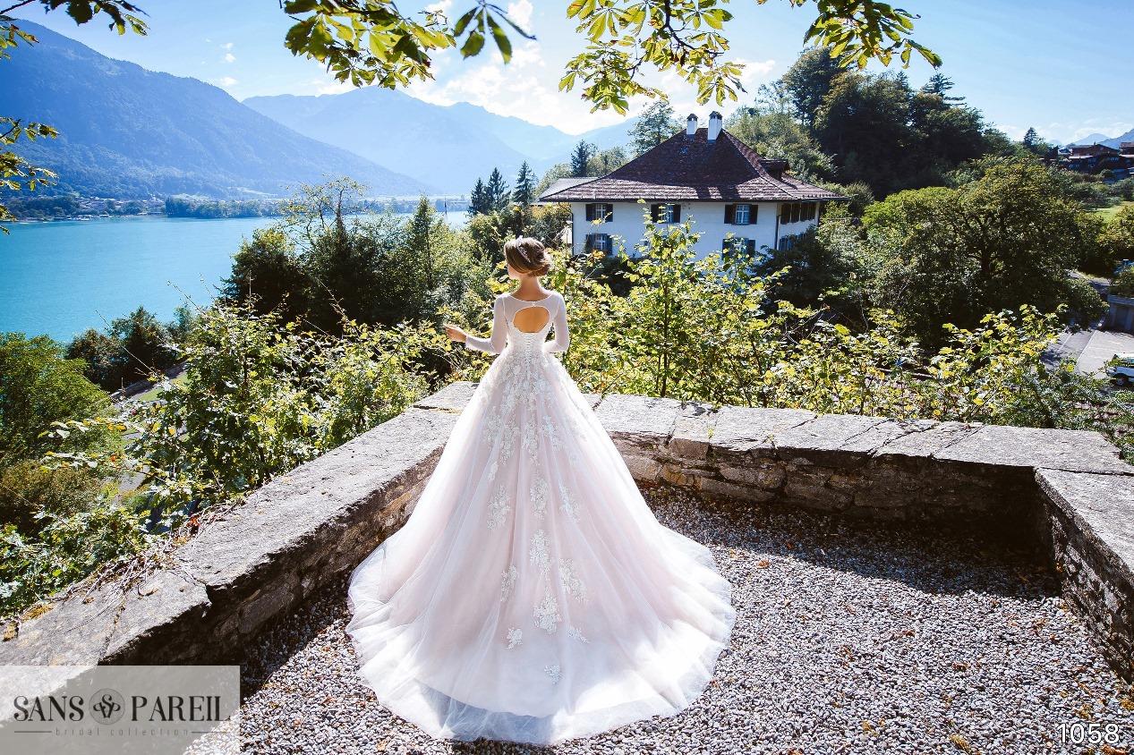 Wedding Gowns Chiffon Yoke