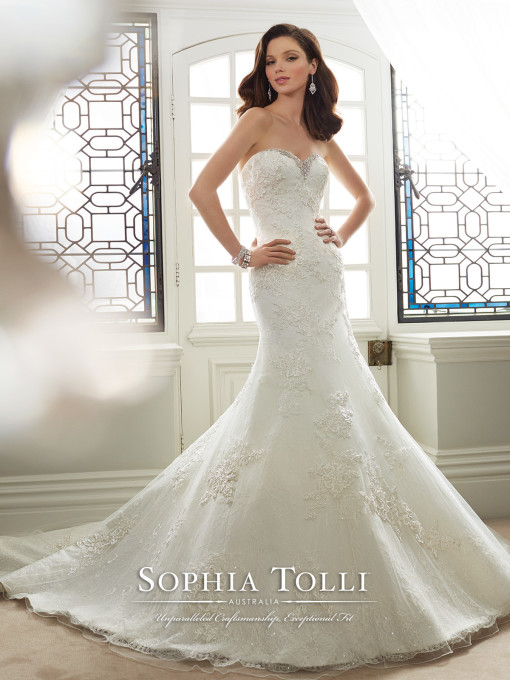 31bab3fa54f Bridal Dress by Sophia Tolli By Mon Cheri Sophia Tolli SPRING 2016  Collection - Y11645 Dido