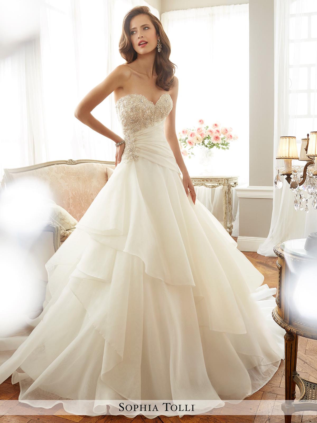 Dress Sophia Tolli Spring 2017 Collection Y11711