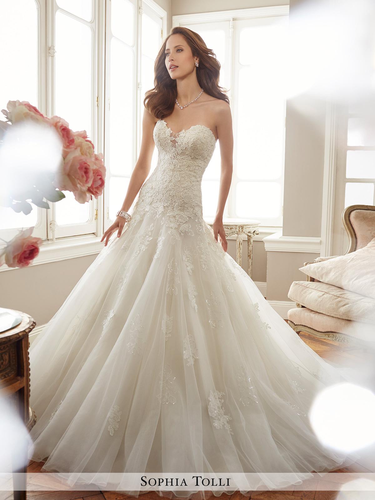 Dress Sophia Tolli Spring 2017 Collection Y11715 Deon Sophiatollibymoncheri Bridal