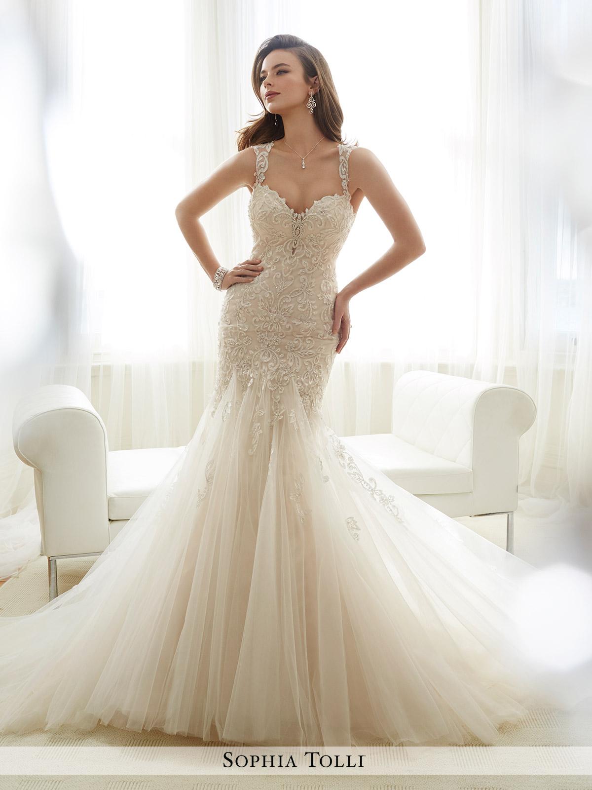 Dress Sophia Tolli Spring 2017 Collection Y11722 Amie