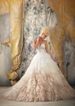 wedding dress from Mori Lee