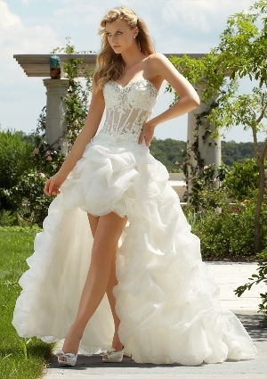 Mori Lee Destination Wedding Dress