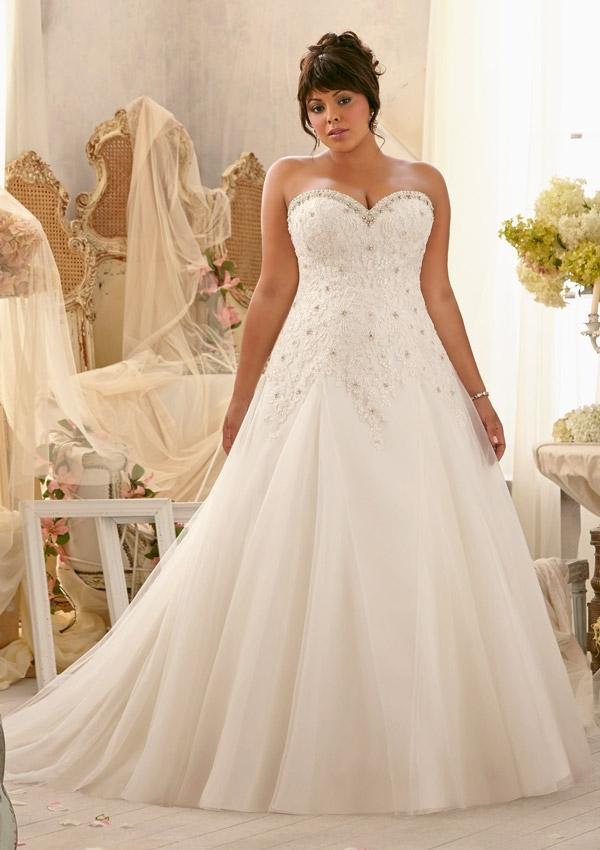Plus Size Wedding Dresses Mori Lee : Mori lee julietta spring collection alen?on lace