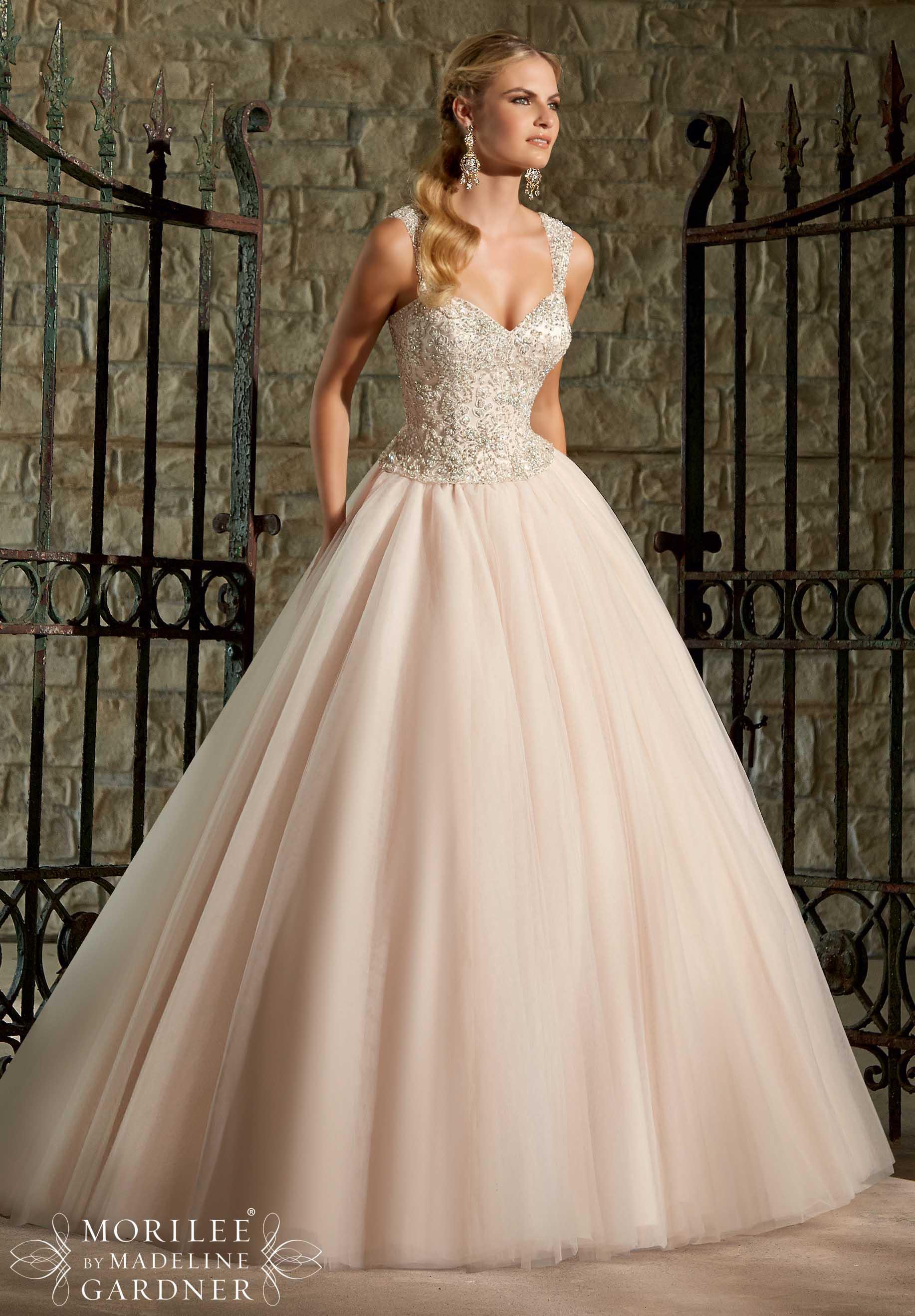 Dress - Mori Lee Bridal SPRING 2015 Collection: 2716