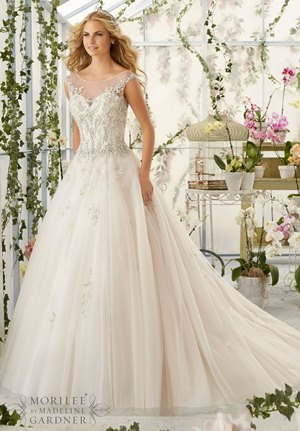 beautiful ball gown wedding dress