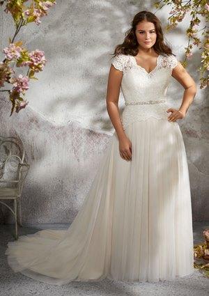 083166773fd Bridal Dress by Plus Size Mori Lee Julietta FALL 2018 Collection  3242 -  Larita
