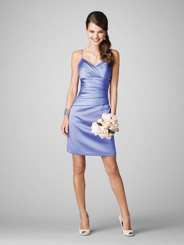 Alfred angelo bridesmaid dresses purple