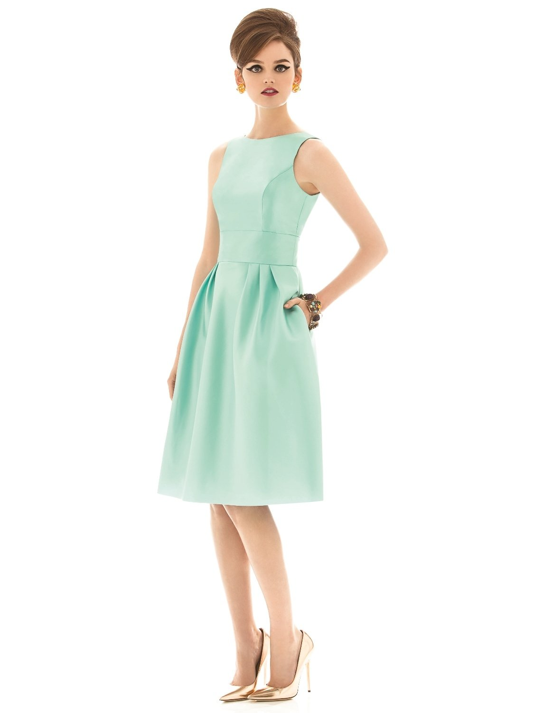Dress - Alfred Sung Bridesmaids SPRING 2014