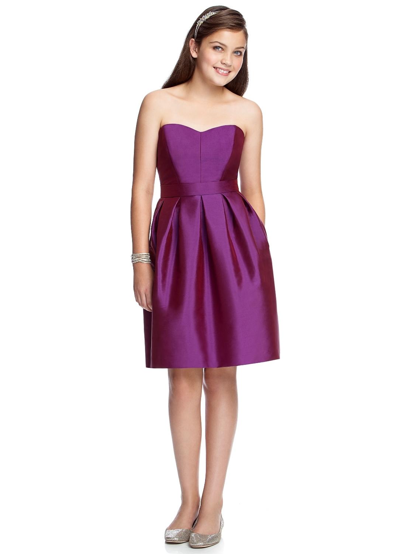 Dress Junior Bridesmaids Spring 2014 Jr522 Dessy Bridesmaids