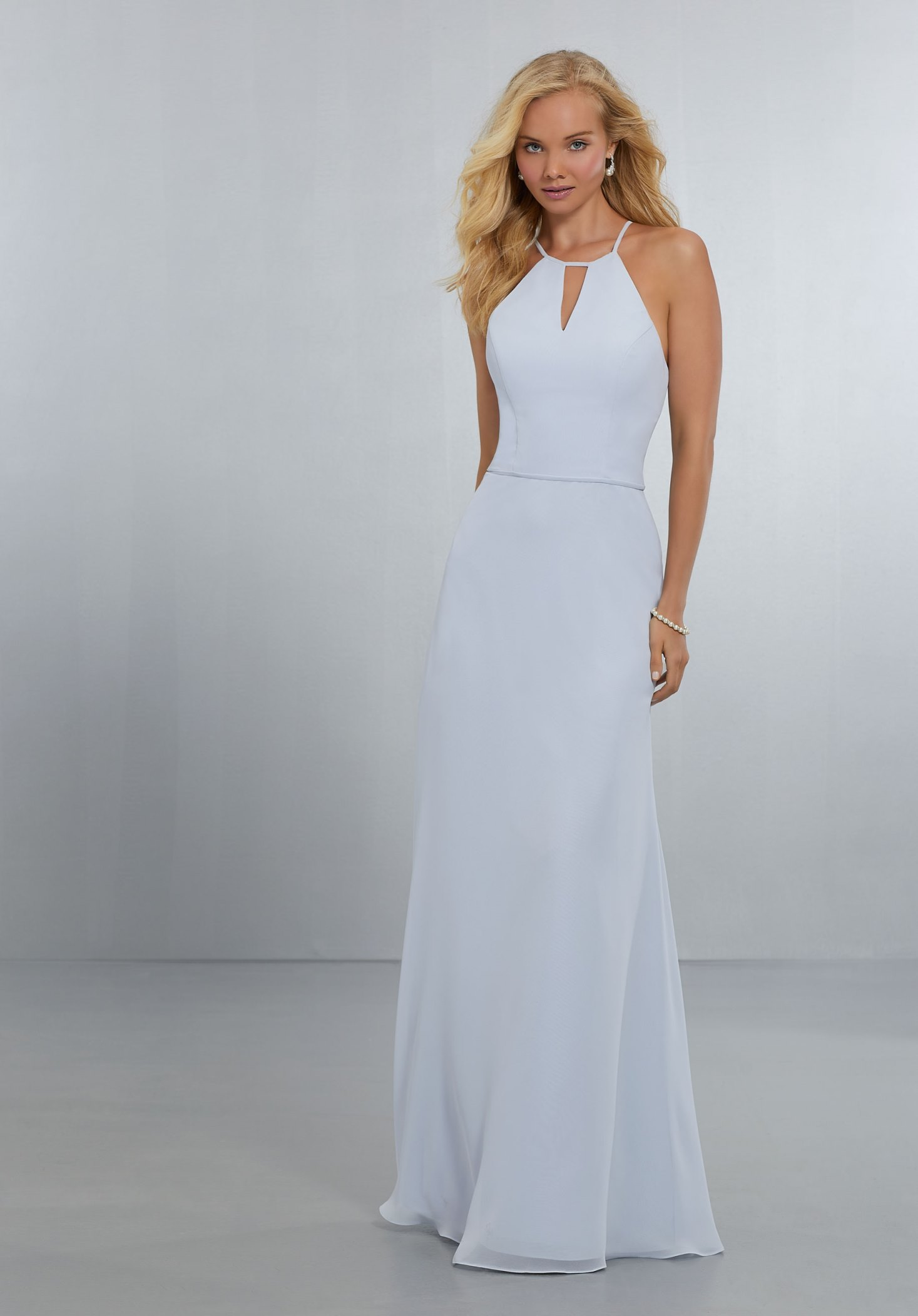 Dress - Mori Lee BRIDESMAIDS SPRING 2018 Collection: 21563 - Chiffon ...