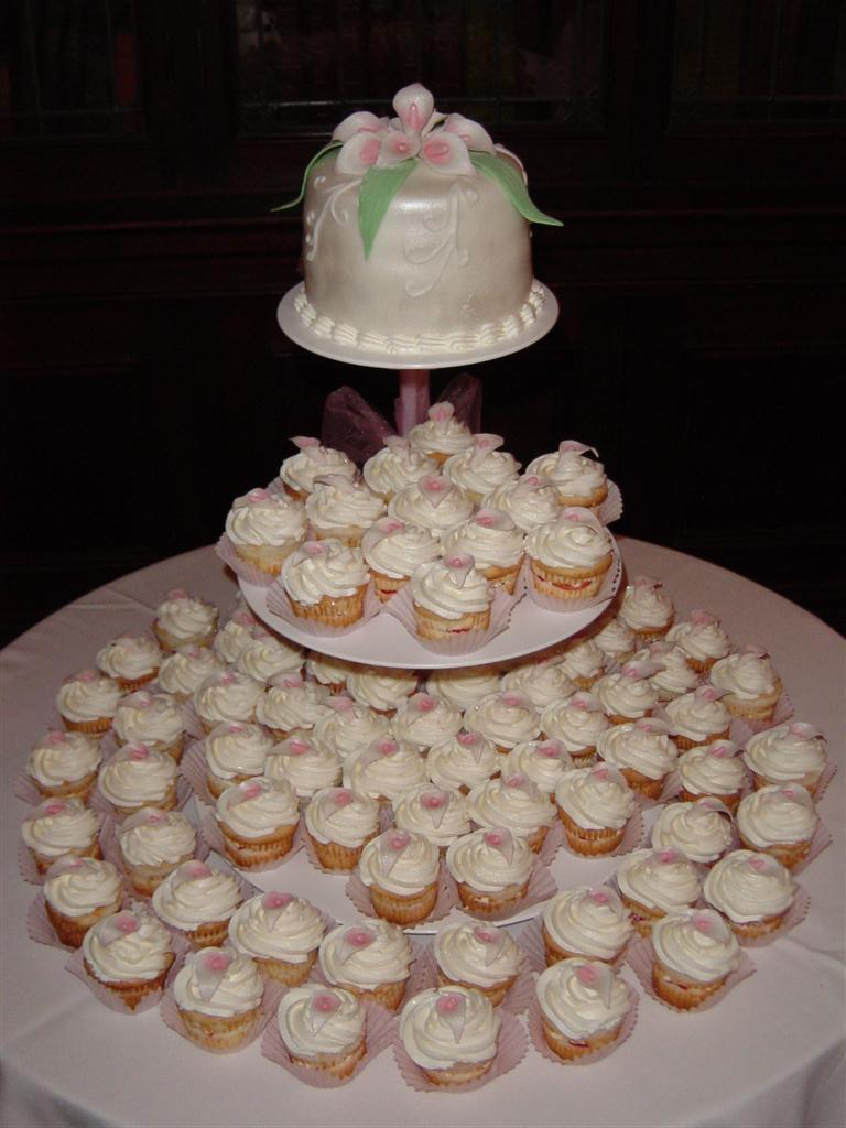 View Wedding Cake Calla Lilly Cupcakes By Natalya Bridal Shops