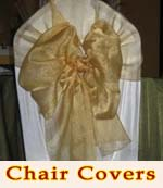 Wedding Chair Covers and Tablecloth