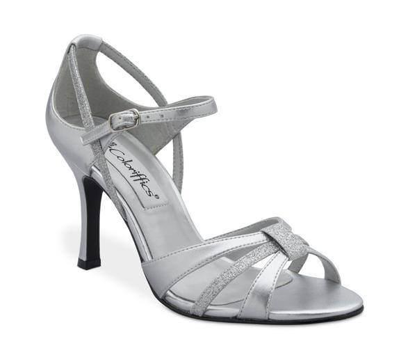 Glitter - stylish silver heelzz