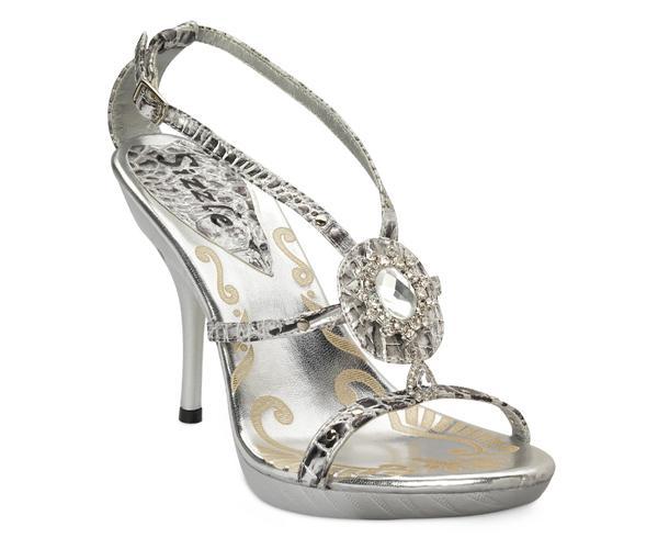 Jamaica - stylish silver heelzz