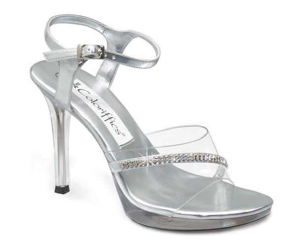 Olivia - stylish silver heelzz